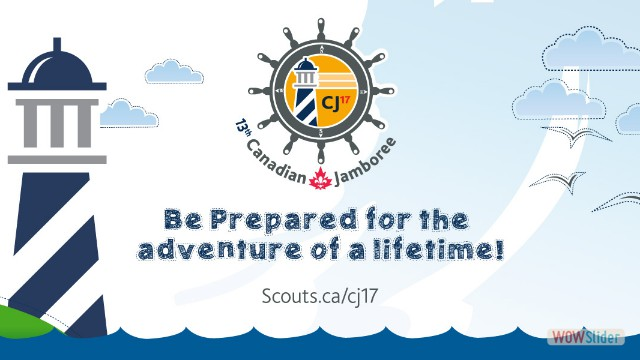 Fundraising to go to the Jamboree in Nova Scotia in 2017